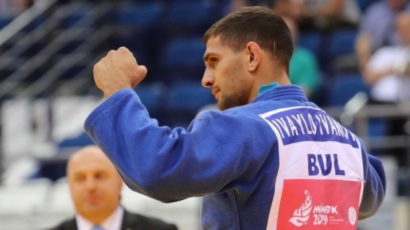 Джудистът Ивайло Иванов със сребро от Европейските игри