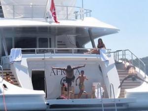 Роналдо разпуска на 46-метрова яхта