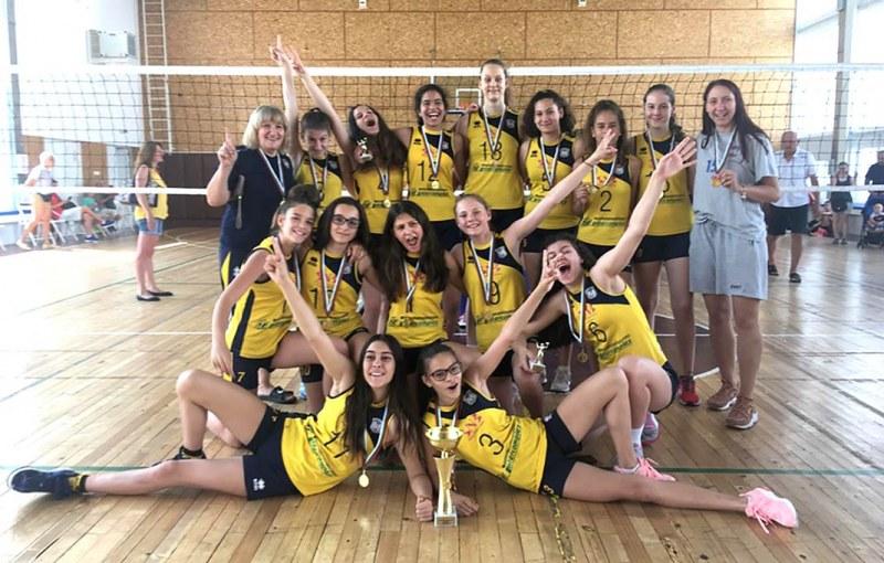 13-годишните на Марица без загубен гейм - донесоха пета титла на клуба