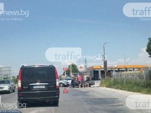 Двама са в болница след катастрофата на Околовръстното в Пловдив
