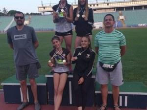 Младите атлети на Локомотив с 12 медала от държавното