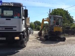 Паветата по пътя за Йоаким Груево са в миналото! Изпълнителите с амбициозен срок за ремонтите