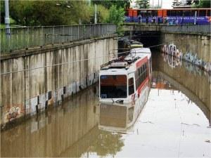 Зевзеци удавиха трамвай в София със стари снимки