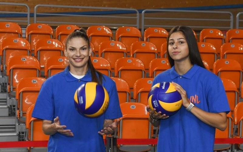 Габи и Алекс поиграха волейбол и призоваха: Всички в Колодрума!