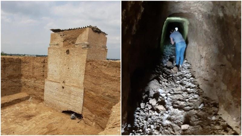 Откриха входа на тунела, през който иманяри са опитали да изнесат съкровищата на Малтепе