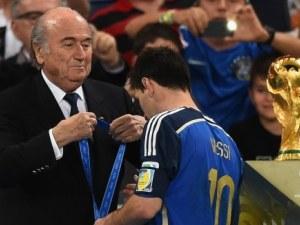 Бразилия оказва огромна чест на Меси