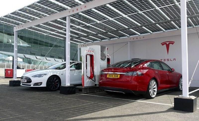 Tesla обяви кога и къде в Пловдив отваря първата зарядна станция за електромобили