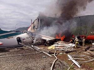 Двама загинаха при аварийно кацане на самолет