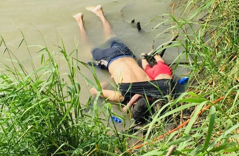 В търсене на по-добър живот: Баща и дъщеря се удавиха на границата на Мексико