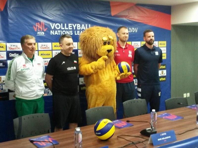 Волейболните треньори поискаха промени в Лигата на нациите