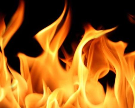 Пожар избухна в сграда на бивше училище край Русе