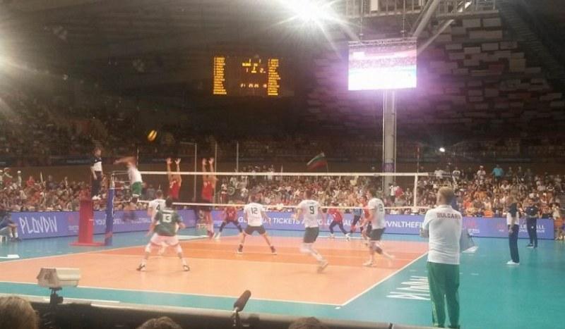 Вдъхновена България обърна САЩ в исторически мач в Колодрума