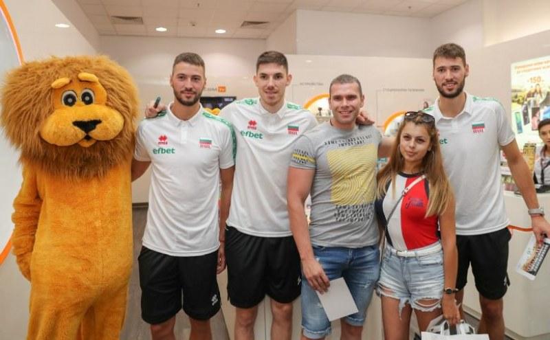 Волейболно шоу на националите с Лъвчо