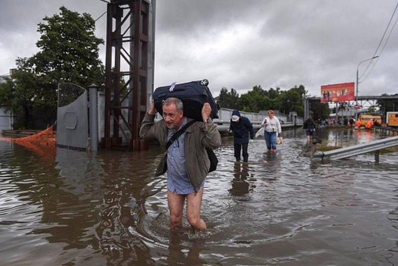 Апокалипсис в Русия - изчезнали хора, хиляди къщи под вода