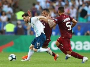 Аржентина е на полуфинал, предстои мегасблъсък с Бразилия