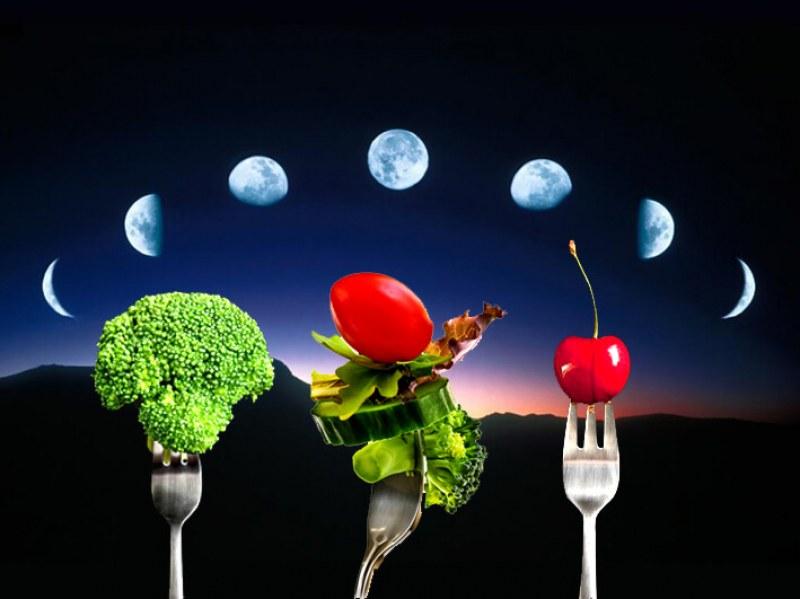 Лунна диета за юли