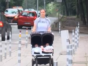 Антипаркинг колчета блокират столичен вход, няма достъп за коли