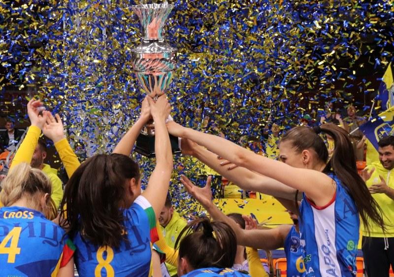 Марица със седем трофея през най-успешния сезон в историята си!