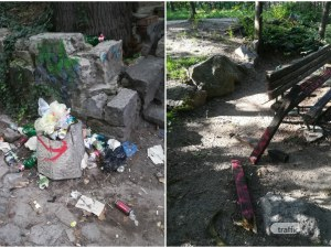 Дановият хълм в Пловдив: Вместо красиви гледки, боклуци и мизерия