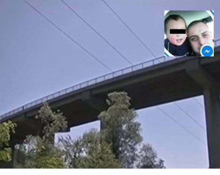 Дидо бил надрусан, когато хвърлил сина си от моста!
