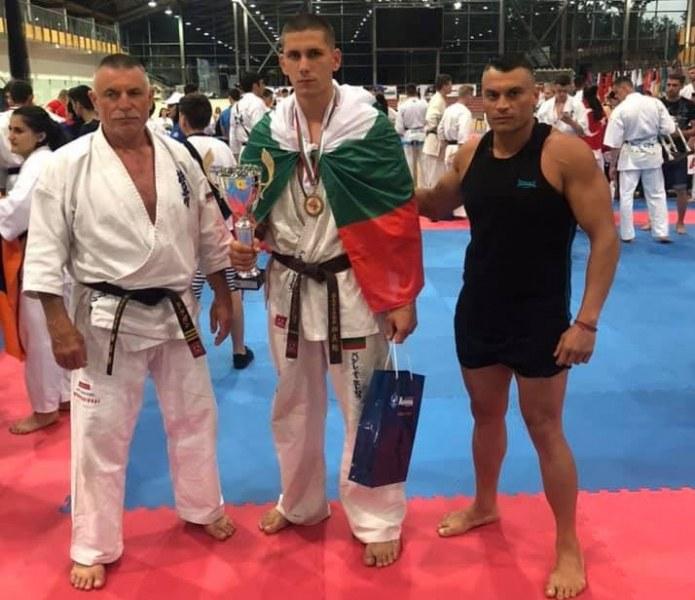 Талант от Садово с бронз от Световната купа по карате
