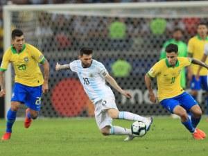 Меси скочи на реферите след загубата от Бразилия