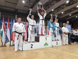 Пловдивчанка със сребро от Световната купа по карате