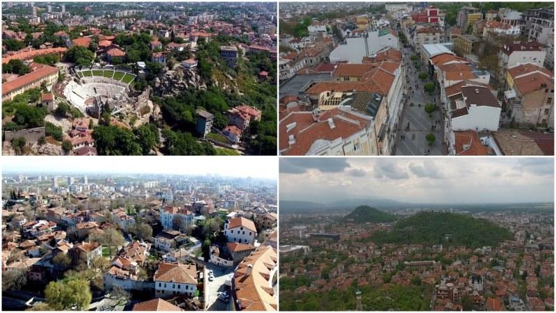 Пловдив от високо! 10 красиви места от птичи поглед