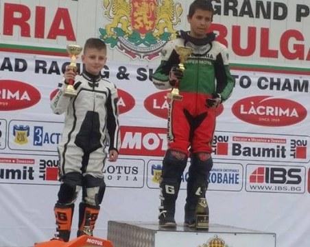 Голямо признание! Пловдивски талант отива на световно по мотокрос