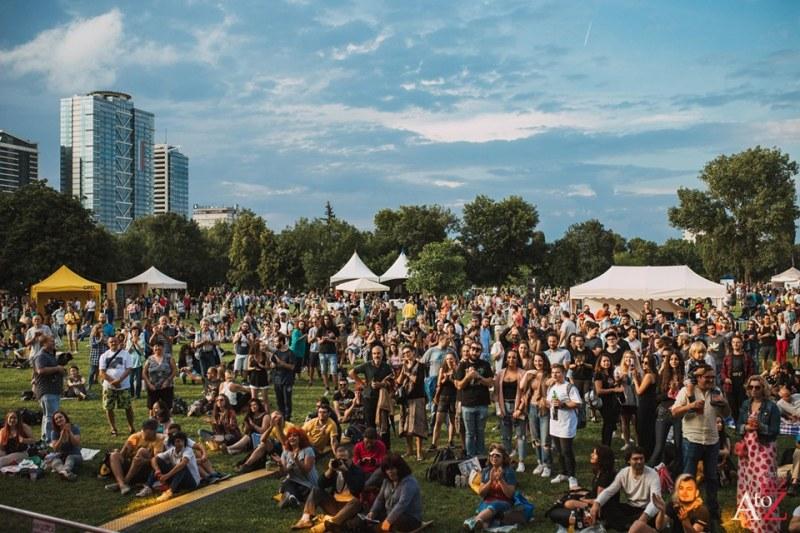 Джаз, фънк и добро настоение превземат Южен парк в София - започва А to Jazz Festival