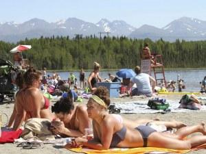 Рекордни температури в Аляска – минаха 32 градуса