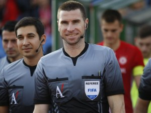 УЕФА вдига пловдивския рефер Кабаков до първа категория