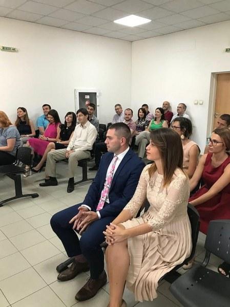 Двама нови съдии встъпиха в длъжност в Районен съд - Пловдив