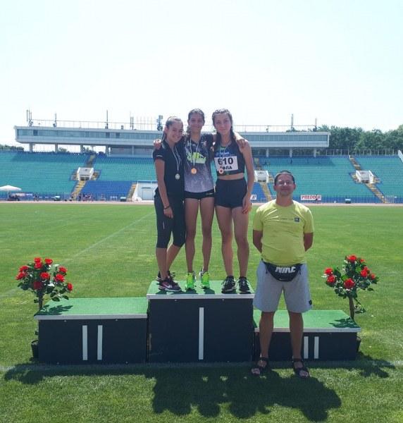 Пловдивска надежда в атлетиката с 3 титли от държавното