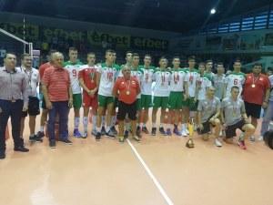 17-годишните лъвове балкански шампиони, Владо Гърков номер 1 на турнира