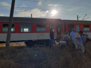 Запали се локомотивът на пътническия влак за Бургас