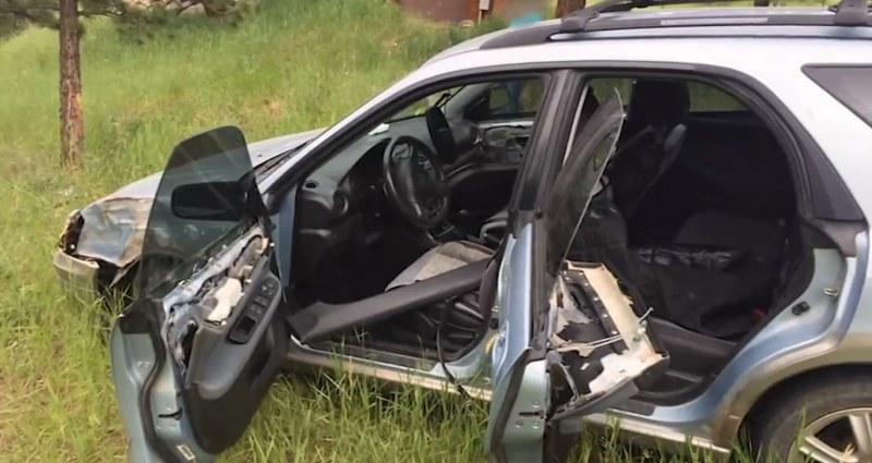 Мечка открадна кола и катастрофира
