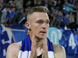 Прохазка: Ще подкрепя отбора на сърцето си - Левски, а не родния Ружомберок