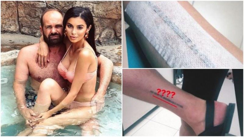 За ЧРД: Мегз и Рончев си направиха татуировки със скрито послание