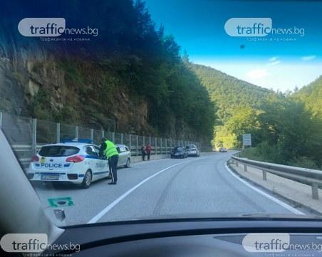 Три коли се натресоха една в друга на пътя Чепеларе - Пловдив
