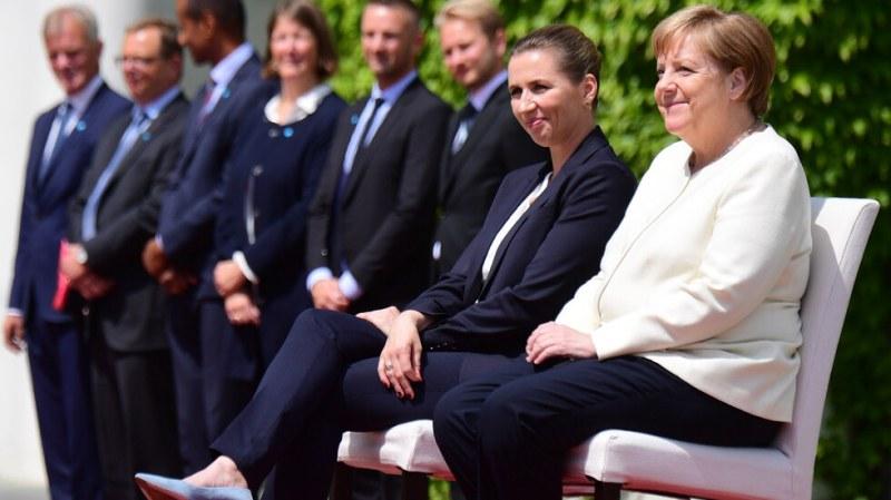 Промениха протокола заради пристъпите на Меркел