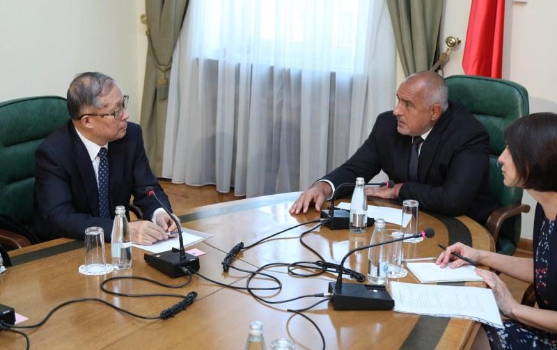 Борисов: Китайските компании могат да инвестират още у нас