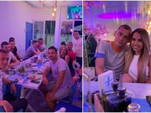 Капитанът на Ботев Пловдив с гръцко парти за рождения си ден