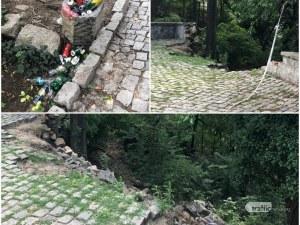 Сахат тепе - сърцето на Пловдив се руши и тъне в мизерия