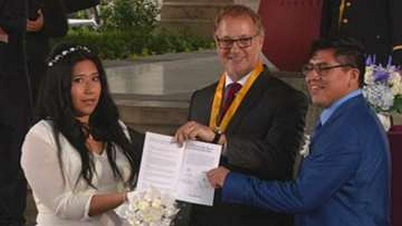 100 двойки се ожениха едновременно в Перу