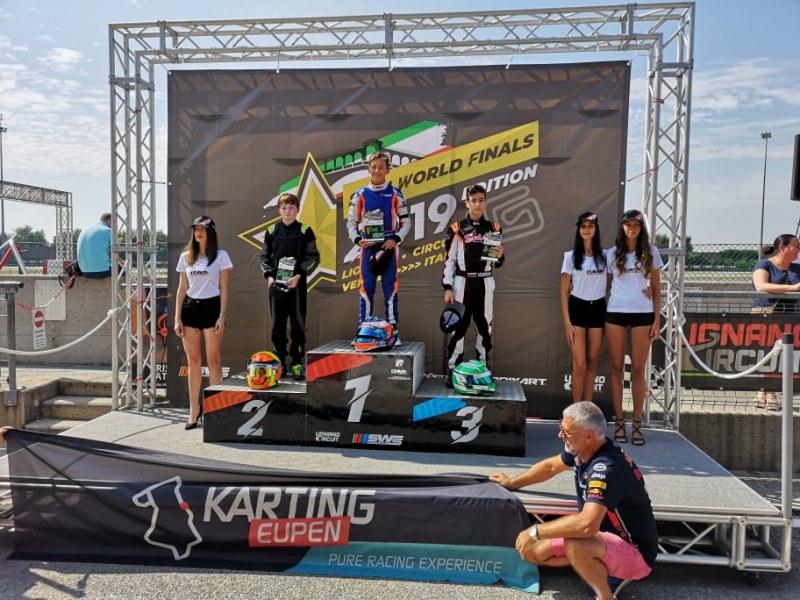 Пловдивски талант с 3-то място на световните картинг серии, днес кара на суперфинал