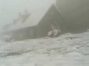 Сняг и температури под нулата през юли в Румъния