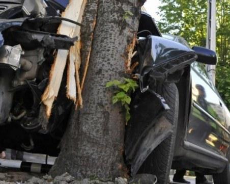 Кола се заби в дърво в Плевенско! Мъж и 4-годишно дете загинаха