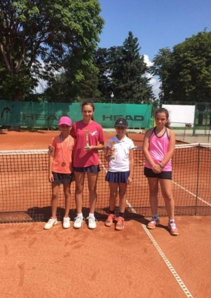 Малчугани от Пловдив триумфираха на регионалното по тенис до 12 години