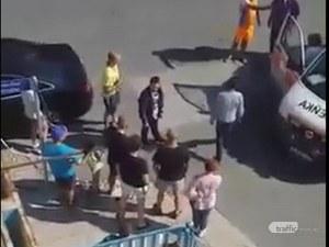 Пловдивчанин улови екшъна, в който  швед открадна такси и катастрофира с него в Несебър